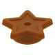 LEGO csillag kiegészítő, sötét narancssárga (11609)