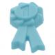 LEGO díjszalag '1'-es számmal, közép azúrkék (92355e)