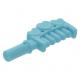 LEGO fésű, közép azúrkék (93080d)