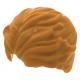 LEGO férfi rövid haj, középsötét testszínű (23186)