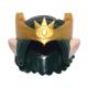 LEGO férfi haj koronával és hosszú fülekkel (Elves), sötétzöld (31581)