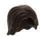 LEGO férfi haj, sötétbarna (88283)