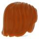 LEGO férfi haj, sötét narancssárga (88283)