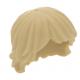 LEGO férfi haj (Luke Skywalker haj), sárgásbarna (92746)