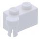 LEGO kocka csuklós elem 1×2 felső csatlakozóval, fehér (3830)