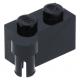 LEGO kocka csuklós elem 1×2 felső csatlakozóval, fekete (3830)