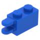 LEGO kocka csuklós elem (zsanér) 1×2 kettős vízszintes csatlakozóval, kék (30540)