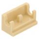 LEGO kocka csuklós elem alapja (zsanér) 1×2, sárgásbarna (3937)