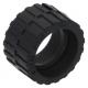 LEGO gumikerék Ø 24mm x 14mm, fekete (89201)