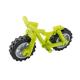 LEGO bicikli kerékpár mountain bike, lime (36934)