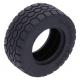 LEGO gumikerék Ø 49.5mm x 20mm, fekete (15413)