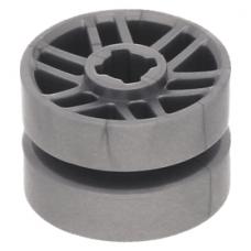 LEGO kerék/kerékbelső Ø 14mm x 9.9mm, matt ezüst (11208)
