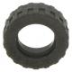 LEGO gumikerék Ø 17.5mm x 6mm, fekete (92409)