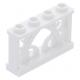 LEGO kerítés 1×4×2, fehér (19121)
