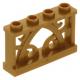 LEGO kerítés 1×4×2, gyöngyház arany (19121)