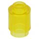 LEGO henger 1x1, átlátszó sárga (3062b)
