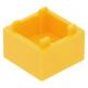 LEGO láda 2×2, világos narancssárga (59121)