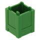LEGO láda 2×2×2, zöld (61780)