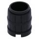 LEGO hordó 2×2×2, fekete (2489)