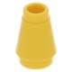 LEGO kúp 1x1, sárga (4589b)