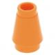 LEGO kúp 1x1, narancssárga (4589b)