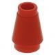 LEGO kúp 1x1, piros (4589b)