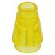 LEGO kúp 1x1, átlátszó sárga (4589b)
