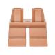 LEGO láb rövid, középsötét testszínű (41879)