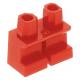LEGO láb rövid, piros