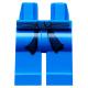 LEGO láb öv mintával (Ninjago), kék (93741)