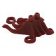 LEGO láb kalmárláb/csápok, sötétpiros (87749)