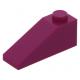 LEGO tetőelem 25°-os (33) 3×1, bíborvörös (4286)