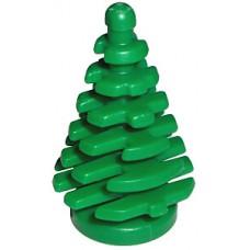 LEGO fenyőfa kisméretű 2×2×4, zöld (2435)