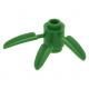 LEGO henger 1×1 3db bambusz levéllel, zöld (30176)