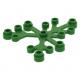 LEGO falevelek lomb 6×5, zöld (2417)