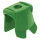 LEGO páncél minta nélkül, zöld