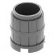 LEGO hordó 2×2×2, sötétszürke (2489)