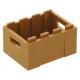 LEGO láda nagyméretű 3×4, középsötét testszínű (30150)