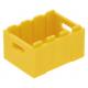 LEGO láda nagyméretű 3×4, sárga (30150)
