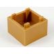 LEGO láda 2×2, középsötét testszínű (59121)