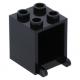 LEGO postaláda szekrény 2×2×2, fekete (4345)