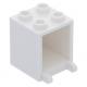 LEGO postaláda szekrény 2×2×2, fehér (4345)