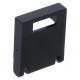 LEGO postaláda/szekrény ajtó 2×2, fekete (4346)