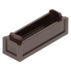 LEGO láda alsó része 1×3×2/3, sötétbarna (69066)