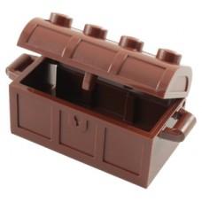 LEGO láda kinyitható 5×2×2, vörösesbarna (4738ac01)