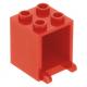 LEGO postaláda szekrény 2×2×2, piros (4345)