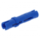 LEGO hosszú pin (3L) ütközővel, kék (6558)