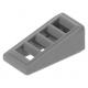 LEGO tetőelem 18°-os 2×1×2/3 rácsozott, sötétszürke (61409)