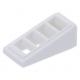 LEGO tetőelem 18°-os 2×1×2/3 rácsozott, fehér (61409)