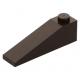 LEGO tetőelem 18°-os 4×1, sötétbarna (60477)